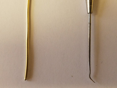 Wire and dental pick